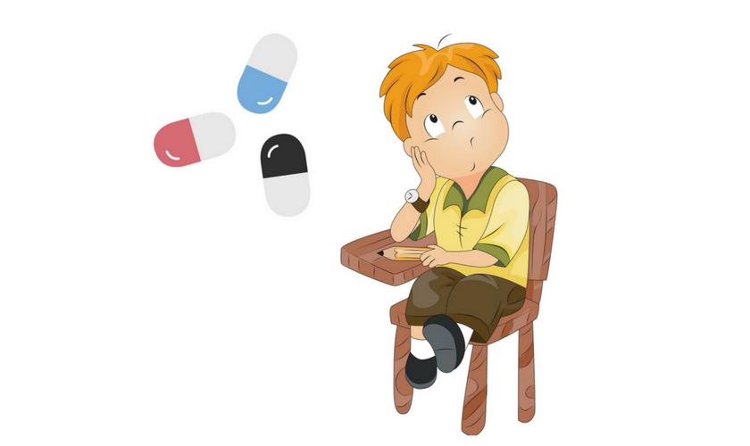 unkonzentriertes Schulkind, Medikamente