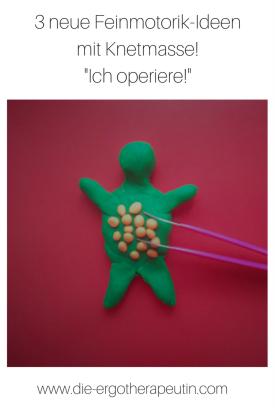 Spielidee mit Knete