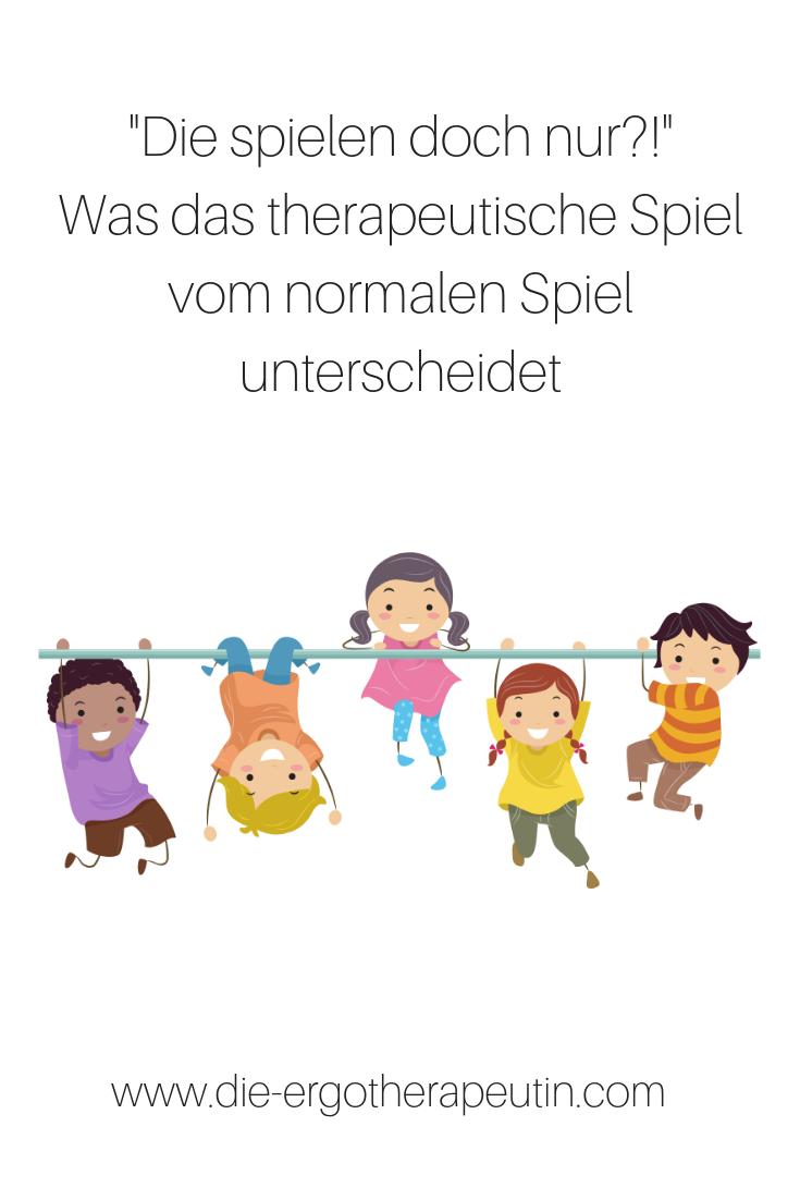 Therapeutisches Spiel mit Kindern